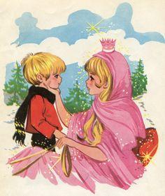 lCuentos de Andersen. Toray. 1975. La reina de las nieves.