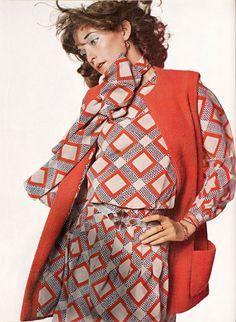 LouLou De La Falaise, Harper's Bazaar 1970
