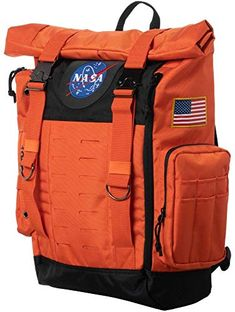 Men Women Backpack Astronaut In Space Keeping Red Heart Balloon Travel Bag White 48