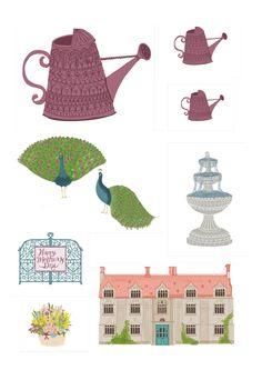 Manor house Mother's Day free printables from Papercraft Inspirations 162 - Papercraft Inspirations