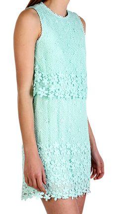 Aceline Lace Dress Mint