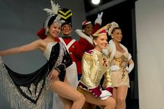 Various Rockette Costumes