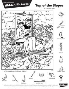 Hidden Pictures Highlights Answers – All The Shops Online Coloring Sheets, Adult Coloring, Coloring Books, Coloring Pages, Hidden Picture Games, Hidden Picture Puzzles, Hidden Object Puzzles, Hidden Objects, Hidden Pictures Printables