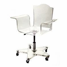 clear desk chairs walgreens transport chair 10 best office images another small storage modern home