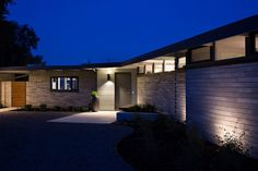 Mid-Century Modern View House Remodel Project in Redwood City, California by Klopf Architecture via @HomeDSGN
