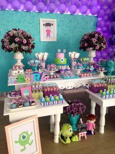 Monstros SA by Bruna Tilli Festas | Inspire sua festa