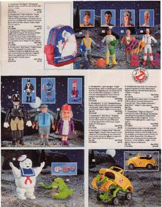 Old Catalogue toy pages - Page 3 Ghostbusters Toys, The Real Ghostbusters, Retro Toys, Vintage Toys, Retro Games, Antique Toys, Hollywood Monsters, 1980s Kids, Toy Catalogs