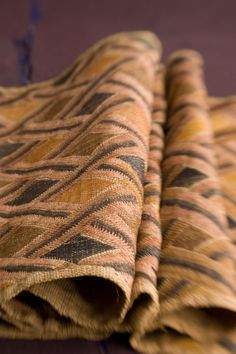 Embroidered Kuba detail (Photo by Edward Addeo for HAND/EYE) #textile