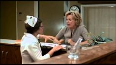 Clip from Terms of Endearment. One of the most powerful scenes in movie history, in my opinion. In this scene, Aurora (played by Shirley MacLaine) walks up t. Female Movie Characters, Debra Winger, Oscar Movies, Nurses Station, Shirley Maclaine, Terms Of Endearment, Chick Flicks, Royal Life, Iconic Women