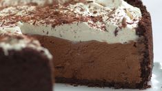 Torta Cremosa de Chocolate, essa torta é um verdadeiro sonho! - Receitas Nota 1000
