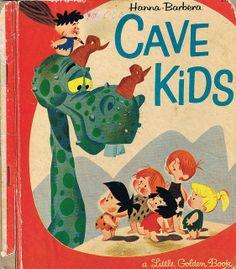 CAVE KIDS, Little Golden Book,