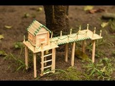 This is a very easy and cool Matchstick Art and Craft Video.Easy Matchstick Art and Craft Idea.In This Video you can see How to Make. Arts And Crafts For Adults, Crafts For Teens To Make, Easy Arts And Crafts, Diy Home Crafts, Popsicle Stick Crafts, Craft Stick Crafts, Craft Ideas, Popsicle Stick Houses, Matchstick Craft
