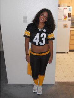 Troy Polamalu from the Pittsburgh Steelers  Halloween  Costume Homemade  Halloween Costumes 39fc26c32ec