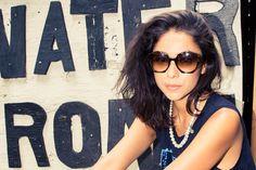Venessa Arizaga in Zanzan 'Ortolan' sunglasses