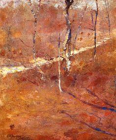 John Henry Twachtman - Landscape