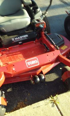 This was taken at J&S locksmith in Bloomington Indiana that sell Toro lawn mowers for sale used to go here soon for my 72 c series with horses