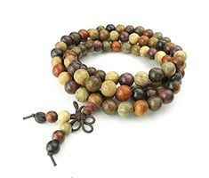 Adisaer Womens Mens Prayer Beads Bracelet Buddhist Mala Multi Strand Beads Necklace Bracelet ** BEST VALUE BUY on Amazon #BuddhistPrayer Beads For Sale, Wood Bracelet, Red Jewelry, Men Necklace, Wooden Beads, Making Ideas, Jewelry Making, Beaded Bracelets, Buddhist Prayer