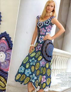 free knitting pattern: knit dress models 2012