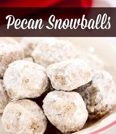 best pecan snowballs cookie recipe ever! - Everyday Dishes & DIY