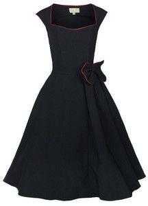 classy vintage clothing | New Classy Vintage 1950's Rockabilly Style Black Swing Party Evening ...