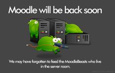 Moodle 404 error, Beasts via The Oatmeal Server Room, Beast, Teaching, Education, Oatmeal, Graphics, Photos, Pictures, Charts