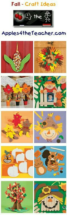 A teacher shares top fall craft projects for little ones!