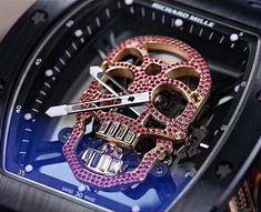 Richard Mille [2016 USED][UNIQUE] RM 52-01 Red Diamonds Skull Tourbillon  Selling Price 售價: HK$7,390,000..  #理查德米勒 #RM #RichardMille #millenation #richardmillewatch #RichardMilleClub #MillionaireLifestyle #BillionaireBoysClub #richlife #RichardMilleMurah #RichardMilleOfficial #RMwatch #RM5201 #RM52 #RM052 #RMskull #luxurylifestyle#世界名錶 #瑞士錶 #watchfreak #watchcollector #watchreview #watchMania #orologio #orologi #watchuseek #menwithclass #watchshop #watchEssentials #watchObession #watchoftheday Richard Mille, Red Diamonds, Diamond Skull, Billionaire Boys Club, Rich Life, Unique, Watches