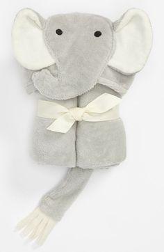 Elegant Baby 'Elephant' Bath Wrap (Infant) available at #Nordstrom