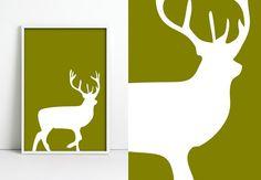 Deer oh Deer by jpappleton on Etsy