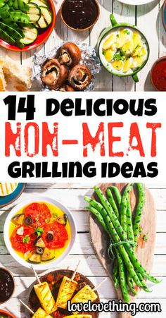 Grilling isn't just for meat! Enjoy your summer grilling with these 14 amazingly delicious and healthy non-meat grilling ideas! Primal Recipes, Vegetarian Recipes Easy, Real Food Recipes, Healthy Recipes, George Foreman, Grilling Ideas, Grilling Recipes, Food Preparation, Family Meals