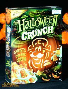 Halloween Crunch packaging