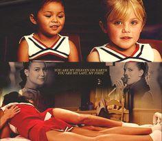 Awwww imagine Brittany and Santana were best friend since kids.. Like literally, it'll be the best ❤️❤️❤️