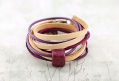 Skórzana Purple