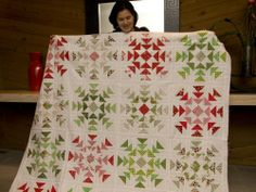 Salt Lake Modern Quilt Guild - so perfect for a winter or holiday collection!