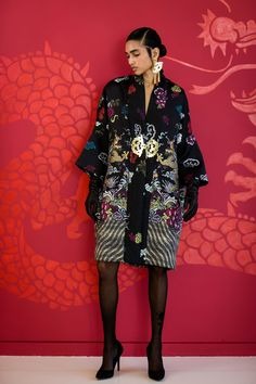Josie Natori Autumn/Winter 2017 Ready to Wear Collection