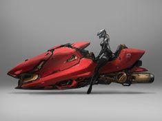 ArtStation - speeder concept art process 2 J.C Park Futuristic Motorcycle, Futuristic Art, Futuristic Vehicles, Concept Motorcycles, Triumph Motorcycles, Standard Motorcycles, Art Cyberpunk, Hover Bike, Sci Fi Ships
