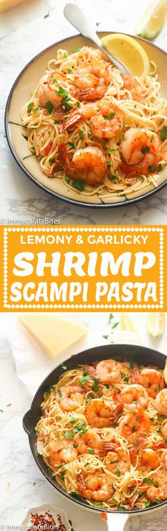 Shrimp Scampi Pasta – quick and easy fancy pasta dish with the right amount of lemon and garlic flavor topped with creole-seasoned shrimps and parmesan cheese for an incredible weeknight meal served right out of the pan! This gal right over here has been blogging about food since 2015. But I got …