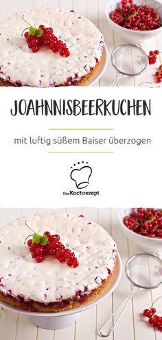 Johannisbeerkuchen mit Baiser (Blechkuchen)