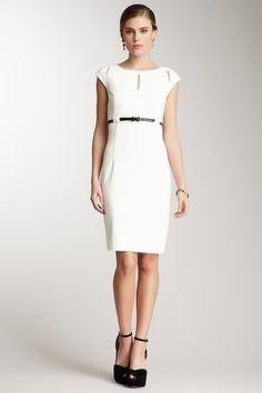 Calvin Klein Sleeveless Keyhole Dress by Spring Dresses on @HauteLook
