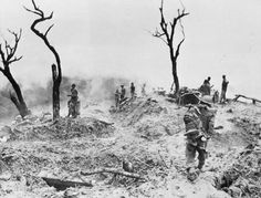 Battlefield on Scraggy Hill at Shenam.jpg The scene on Scraggy Hill, captured by the 10th Gurkhas during the Battle of Imphal .Birma