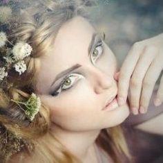 wood nymph/fairy makeup