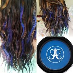 Hypercolor for Mermaid Hair