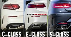 The Ties That Bind: 2017 Mercedes E-Class Vs C-Class Vs S-Class Coupes #Galleries #Mercedes