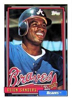 1992 Topps - Deion Sanders - Atlanta Braves