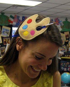 first day of art class hair clip @Elizabeth Lauer @Chelsea B