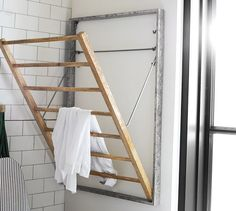 Galvanized Laundry Drying Rack | Pottery Barn