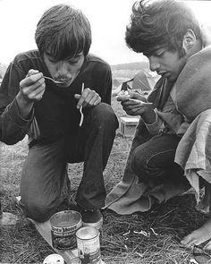 Woodstock Festival 60s Pictures   Vintage 60s Camping Woodstock Summer Of Love Music Festival