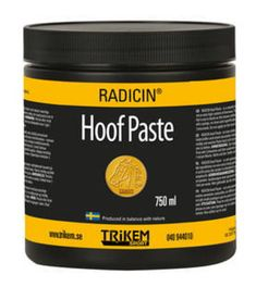 RADICIN Hoof Paste - kaviovoide Past, Container, Past Tense