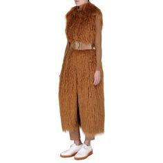 Stella McCartney - Camel Shiny Alter Nappa Waist Belt