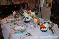Craving Orange Tablescape